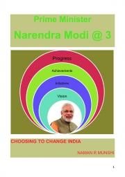 Prime Minister Narendra Modi @ 3 (eBook)