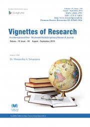 Vignettes of Research : August - September, 2016 (Final Issue)