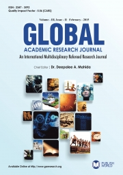 Global Academic Research Journal : February - 2015