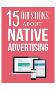 15 Questions About Native Advertising (eBook)