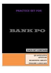 Ebook For Banking Exam Po