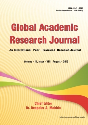 Global Academic Research Journal (August - 2015)