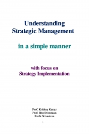 Understanding Strategic Management  (eBook)