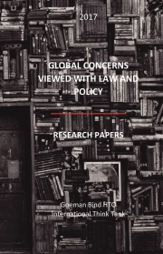 GLOBAL CONCERNS  VIEWED WITH LAW AND POLICY