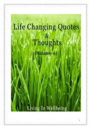 Life Changing Quotes & Thoughts (Volume 6) (eBook)