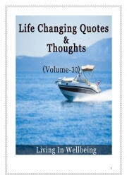 Life Changing Quotes & Thoughts (Volume 30) (eBook)