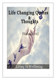 Life Changing Quotes & Thoughts (Volume 36) (eBook)