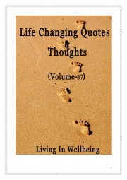 Life Changing Quotes & Thoughts (Volume 37) (eBook)