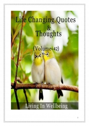 Life Changing Quotes & Thoughts (Volume 42) (eBook)
