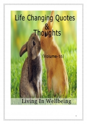 Life Changing Quotes & Thoughts (Volume 55) (eBook)