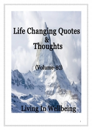Life Changing Quotes & Thoughts (Volume 80) (eBook)