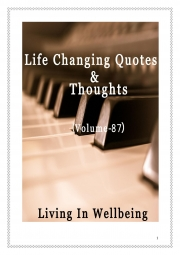 Life Changing Quotes & Thoughts (Volume 87) (eBook)