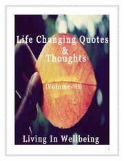 Life Changing Quotes & Thoughts (Volume 106) (eBook)