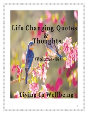 Life Changing Quotes & Thoughts (Volume 109) (eBook)