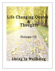 Life Changing Quotes & Thoughts (Volume 112) (eBook)