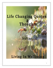 Life Changing Quotes & Thoughts (Volume 114) (eBook)