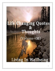 Life Changing Quotes & Thoughts (Volume 135) (eBook)