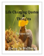 Life Changing Quotes & Thoughts (Volume 141) (eBook)
