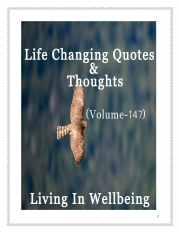 Life Changing Quotes & Thoughts (Volume 147) (eBook)