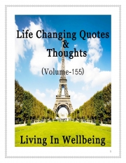 Life Changing Quotes & Thoughts (Volume 155) (eBook)