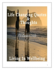 Life Changing Quotes & Thoughts (Volume 163) (eBook)