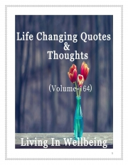 Life Changing Quotes & Thoughts (Volume 164) (eBook)