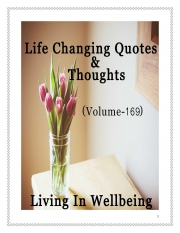Life Changing Quotes & Thoughts (Volume 169) (eBook)