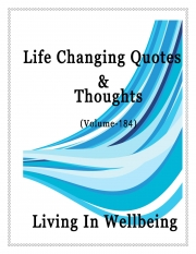 Life Changing Quotes & Thoughts (Volume 184) (eBook)