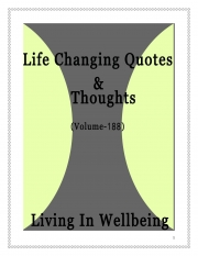 Life Changing Quotes & Thoughts (Volume 188) (eBook)