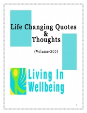Life Changing Quotes & Thoughts (Volume 200) (eBook)