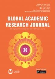 Global Academic Research Journal (October - December, 2017)