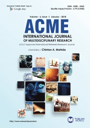 Acme International Journal : January - 2018 (Revised)