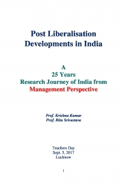 Post Liberalisation Developments in India Vol. I-V (eBook)
