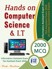 Hands On Computer Science and IT 2000 MCQ (eBook)