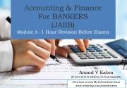 JAIIB Accounting & Finance Module A (eBook)