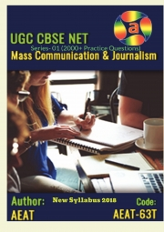UGC NET Mass Communication and Journalism Model Practice Tests (2000+ Practice Questions) 2018
