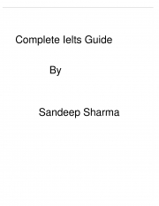 Ielts complete guidance (eBook)