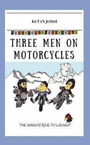 Three men on motorcycles