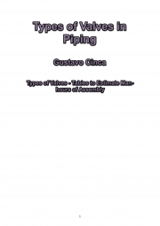Types of Valves in Piping (eBook)