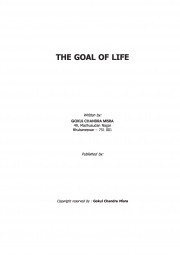 The Goal Of Life (eBook)