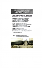 Audacity Of The Blank Page (eBook)