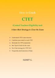 How to crack CTET (Central Teachers Eligibility Test) (eBook)