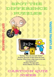 Spot the differences,Puzzles (eBook)