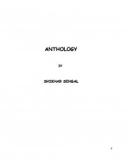ANTHOLOGY (eBook)
