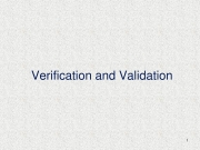 Verification And Validation in Software Testing (eBook)