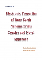 Electronic Properties of Rare Earth Nanomaterials-Concise and Novel Approach (eBook)