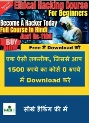 Master in Ethical Hacking Paid Course in Hindi Free Download Technique  (eBook)