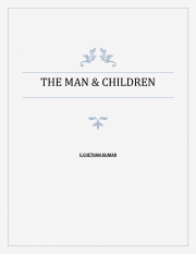 The Man and the Children (eBook)