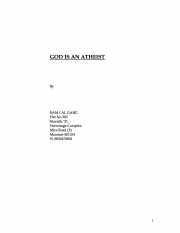 God is an Atheist (eBook)