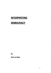 Interpreting Democracy (eBook)
